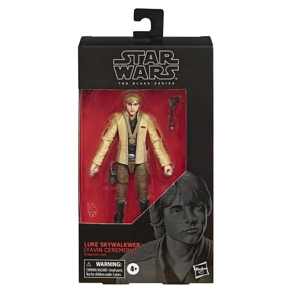 Star Wars The Black Series: A New Hope - Luke Skywalker (Yavin Ceremony)  E6058